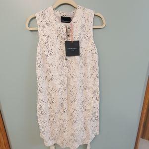 Cynthia Rowley Black & white dress